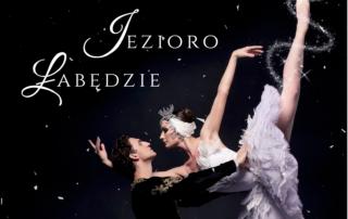 plakat promocyjny baletu royal lviv ballet jezioro łabędzie